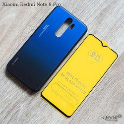 Чехол и стекло для Xiaomi Redmi Note 8 Pro, Note 8, Note 7, Redmi 8