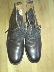 Кожаные мужские  новые ботиночки