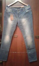 Новые голубые джинсы 18 р-ра ТМ Мах