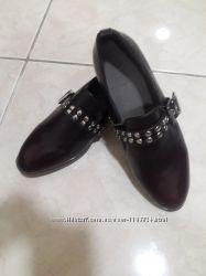 Новые темно коричневые туфли ТМ Мах 36 р-ра