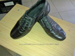 Кожаные туфли для мальчика 32 размер, по стельке 21, 5- 22,