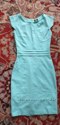 Платье, цвет - бирюза, размер 40 - 42,