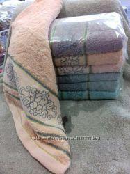 Банные полотенца махровые