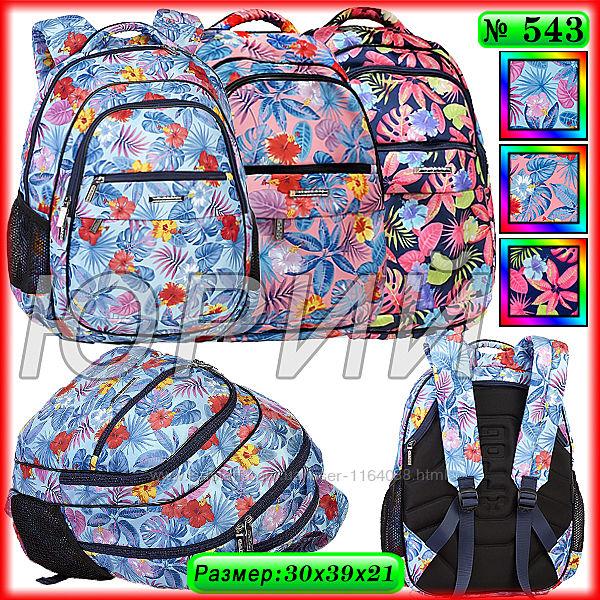 Школьный рюкзак Dolly 543, 544, 545, 546, 547.