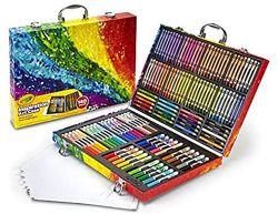 Crayola крайола чемодан большой набор для творчества