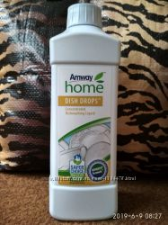 Акция Amway Home Dish Drops жидкость для мытья посуды концентрат безопасен