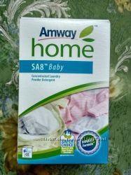 Вся продукция Amway  безфосфатный безопасный стиральный порошок экономичный