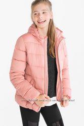 Демисезонная куртка для девочки C&A Германия Размер 134, 170 Еврозима