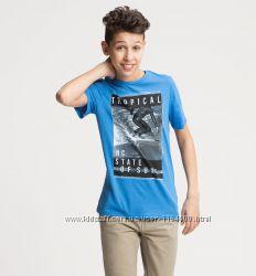 Стильная футболка на мальчика 7-8, 9-10 и 11-12 лет от C&A