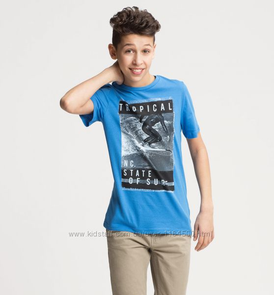 Стильная футболка для мальчика C&A Германия Размер 134-140 Оригинал