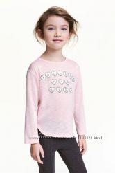 Очень красивый свитер на девочку H&M Размер 98-104, 110-116 122-128 134-140