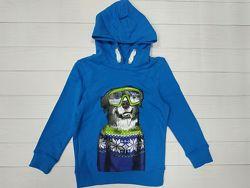 Толстовка с капюшоном для мальчика C&A Palomino Германия Размер 116 синяя