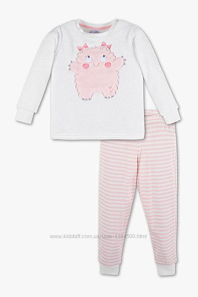 Детская пижама для девочки C&A Palomino Германия Размер 104 оригинал