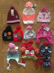 Зимние шапки на мальчика и девочку