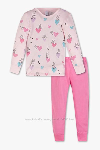 Детская пижама для девочки C&A Palomino Германия Размер 110, 116 Оригинал
