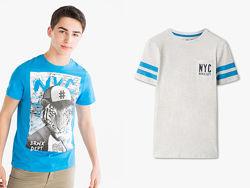 Набор стильных детских и подростковых футболок на мальчика от 6 до 16 лет