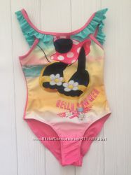Сдельный купальник для девочки 3-4 года Размер 98-104