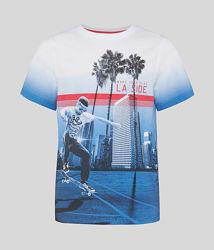 Летняя футболка для мальчика C&A Германия Размер 122-128, 134-140, 146-152