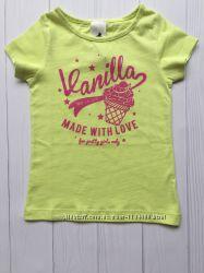 Детская футболка для девочки 2-3 года от C&A Palomino Германия Размер 98