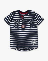 Полосатая футболка для мальчика 4-6 лет C&A Palomino Германия Размер 116