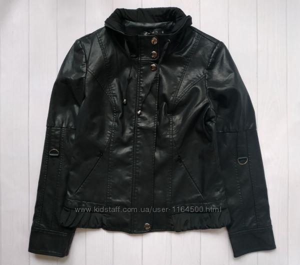 Женская куртка кожзам весна-осень Размер 44