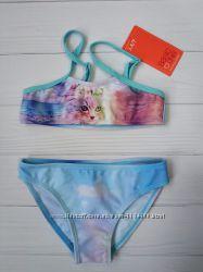 Детский раздельный купальник для девочки 2-3 года Размер 98