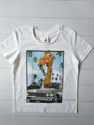 Детская белая футболка для мальчика C&A Palomino Германия Размер 110