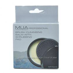 Очиститель для кистей MUA brush cleansing balm с очищающей подушкой