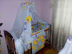 Балдахин держак бант карман на кроватку