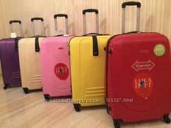 чемодан большой валіза на колесах сумка