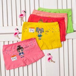 наборчики трусиков-шортиков для девочек от Николетта