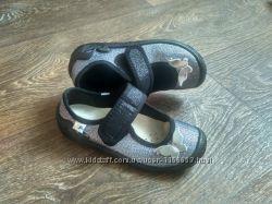 Шикарные текстильные тапочки, туфельки  со стельками  р. 26-31 3f  Польша