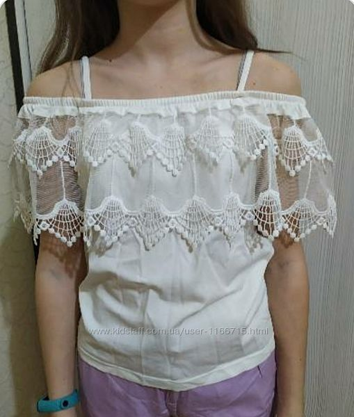 Блузка для школы, идеальное состояние