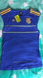 Безрукавка футбольная женская Adidas p. S