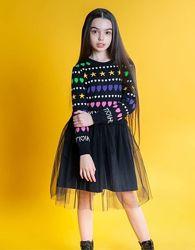 Красивое платье р 110-152. Разные цвета.