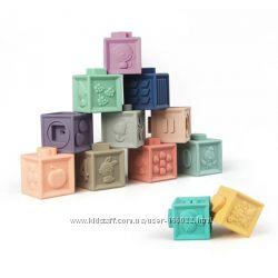 Развивающие силиконовые кубики