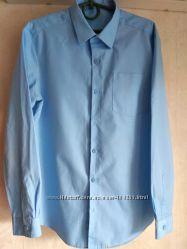 Рубашки голубые george 12-13 Years