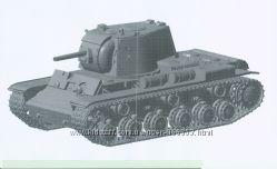 Чертежи модели танка КВ-1