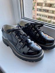 Супер стильные туфли Evie для девочки 34-35р.