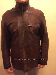Австрийская кожаная куртка UPSTAR continental. Мужская
