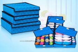 Органайзер для хранения белья,  носков, галстуков и пр. мелких предметов.