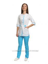 Медицинский костюм батист, р 40, 48, 50, 52, 54