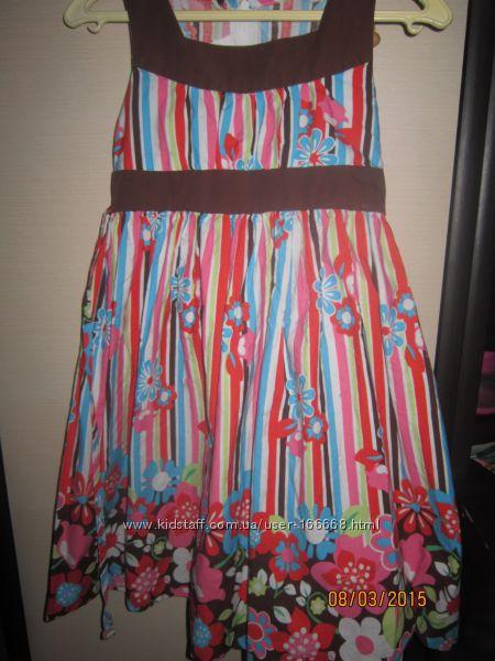 Очень яркое, красивое, нарядное платье, 120гр