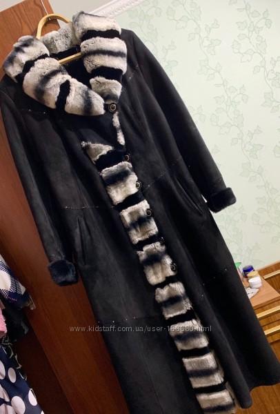 Шикарная дублёнка бренда Penn Ambiance, размер XL