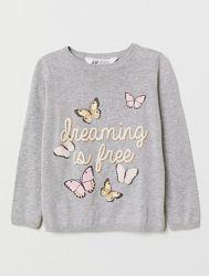 Тонкий свитерок H&M, размер 8-10 лет, 134-140 см в наличии