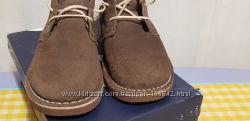 Замшевые ботинки 21 см стелька