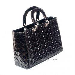 Женская сумка Dior стеганый черный