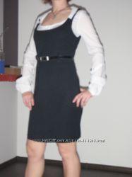 Сарафан платье PIMKIE трикотаж р. М в офис