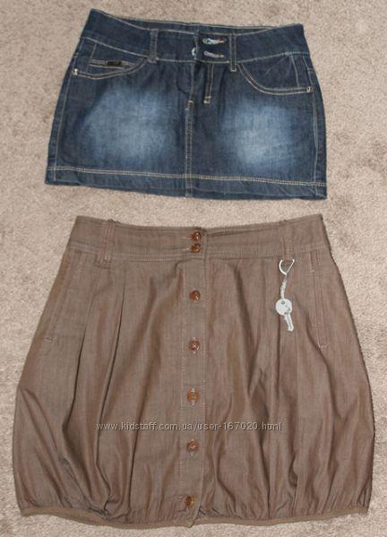Две юбки одним лотом 36-38 размер