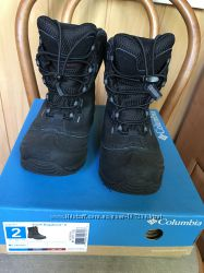 Зимние ботинки Columbia р. 33 21. 5см
